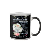 To My Daughter-in-law - Boho Elephant - Circus Color Changing Mug thumbnail