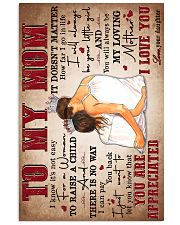 To My Mom - Poster 16x24 Poster front