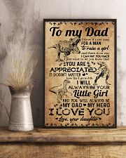 POSTER - TO MY DAD - DINOSAUR 16x24 Poster lifestyle-poster-3