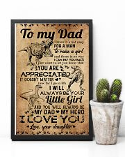 POSTER - TO MY DAD - DINOSAUR 16x24 Poster lifestyle-poster-8