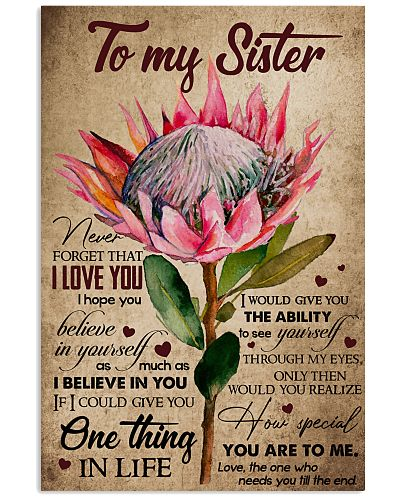 TO MY SISTER - PROTEA - I LOVE YOU
