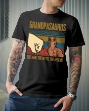 SAURUS - THE MAN - THE LEGEND Classic T-Shirt lifestyle-mens-crewneck-front-6