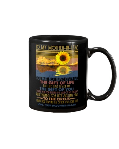 MUG - TO MY MOTHER-IN-LAW - SUNFLOWER - VINTAGE
