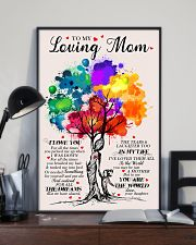 To My Mom - Poster 16x24 Poster lifestyle-poster-2