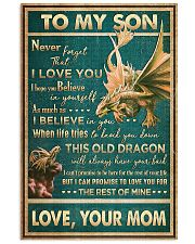 Dragon - Mom To Son - Never Forget That I Love 16x24 Poster front