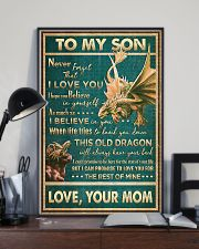 Dragon - Mom To Son - Never Forget That I Love 16x24 Poster lifestyle-poster-2