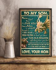 Dragon - Mom To Son - Never Forget That I Love 16x24 Poster lifestyle-poster-3