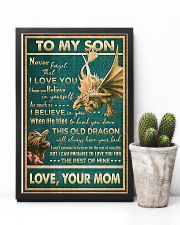 Dragon - Mom To Son - Never Forget That I Love 16x24 Poster lifestyle-poster-8