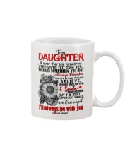TO MY DAUGHTER - HENNA - BE WITH YOU Mug front