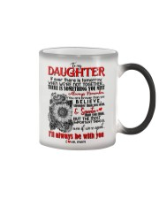TO MY DAUGHTER - HENNA - BE WITH YOU Color Changing Mug thumbnail
