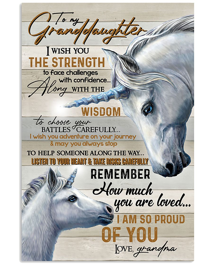 GRANADDAUGHTER - ART - I AM SO PROUD OF YOU 16x24 Poster