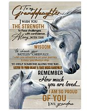 GRANADDAUGHTER - ART - I AM SO PROUD OF YOU 16x24 Poster front