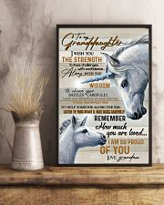 GRANADDAUGHTER - ART - I AM SO PROUD OF YOU 16x24 Poster lifestyle-poster-3
