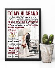 TO MY HUSBAND - COUPLE - I LOVE YOU 16x24 Poster lifestyle-poster-8