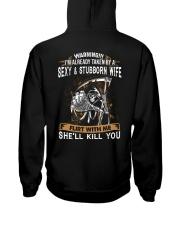 HUSBAND T-SHIRT Hooded Sweatshirt thumbnail