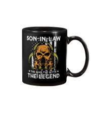 SON-IN-LAW - SKULL - THE MAN THE MYTH THE LEGEND Mug thumbnail