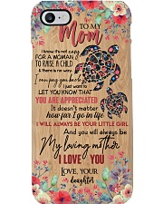 TO MY MOM - TURTLE - YOU ARE APPRECIATED Phone Case i-phone-7-case