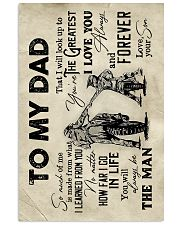 To My Dad - Motorbike - Poster 16x24 Poster front