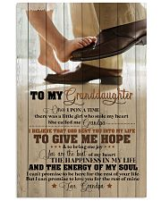 Grandpa to Granddaughter - You Are The Beat  16x24 Poster front