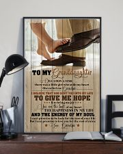 Grandpa to Granddaughter - You Are The Beat  16x24 Poster lifestyle-poster-2