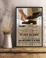 Grandpa to Granddaughter - You Are The Beat  16x24 Poster lifestyle-poster-3