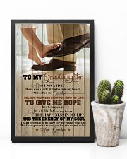 Grandpa to Granddaughter - You Are The Beat  16x24 Poster lifestyle-poster-8