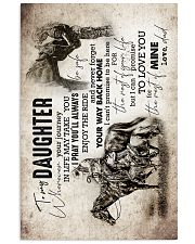 Daughter - Horse Riding - Wherever Your Journey   16x24 Poster front