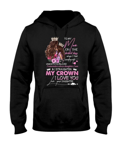 TO MY MOM - CROWN - I LOVE YOU