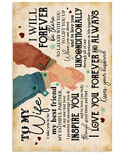 Wife - I Take You To Be My Best Friend - Poster 16x24 Poster front