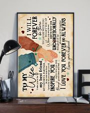 Wife - I Take You To Be My Best Friend - Poster 16x24 Poster lifestyle-poster-2