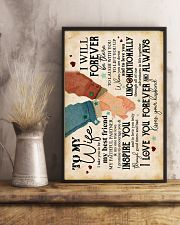 Wife - I Take You To Be My Best Friend - Poster 16x24 Poster lifestyle-poster-3