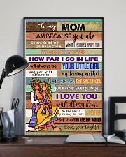 TO MY MOM - HIPPIE - MY LOVING MOTHER 16x24 Poster lifestyle-poster-2