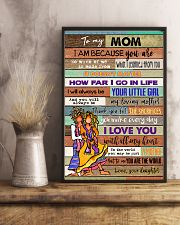 TO MY MOM - HIPPIE - MY LOVING MOTHER 16x24 Poster lifestyle-poster-3
