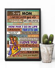 TO MY MOM - HIPPIE - MY LOVING MOTHER 16x24 Poster lifestyle-poster-8