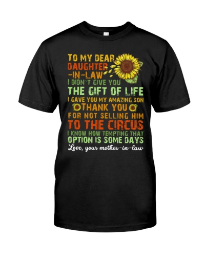 TO MY DAUGHTER-IN-LAW - VINTAGE - CIRCUS