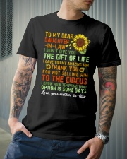 TO MY DAUGHTER-IN-LAW - VINTAGE - CIRCUS Classic T-Shirt lifestyle-mens-crewneck-front-6