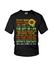 TO MY DAUGHTER-IN-LAW - VINTAGE - CIRCUS Youth T-Shirt thumbnail