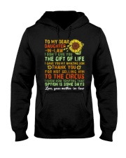 TO MY DAUGHTER-IN-LAW - VINTAGE - CIRCUS Hooded Sweatshirt thumbnail