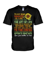 TO MY DAUGHTER-IN-LAW - VINTAGE - CIRCUS V-Neck T-Shirt thumbnail