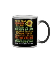 TO MY DAUGHTER-IN-LAW - VINTAGE - CIRCUS Color Changing Mug thumbnail