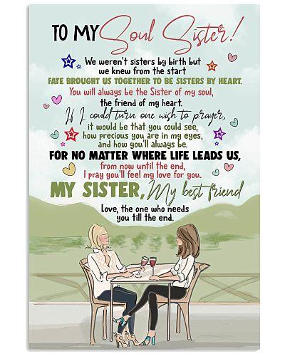 TO MY SOUL SISTER - GIRLS - MY BEST FRIEND