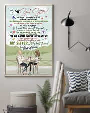 TO MY SOUL SISTER - GIRLS - MY BEST FRIEND 16x24 Poster lifestyle-poster-1