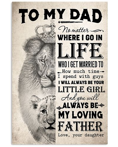 TO MY DAD - LION - MY LOVING FATHER
