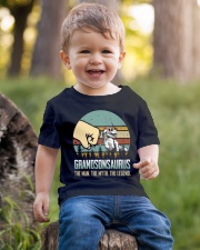 GRANDSON - THE MAN - THE LEGEND Youth T-Shirt lifestyle-youth-tshirt-front-4