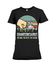 GRANDSON - THE MAN - THE LEGEND Premium Fit Ladies Tee thumbnail