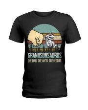 GRANDSON - THE MAN - THE LEGEND Ladies T-Shirt thumbnail