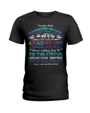 TO MY DAUGHTER-IN-LAW - FUNNY T-SHIRT - CIRCUS Ladies T-Shirt thumbnail