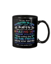 TO MY DAUGHTER-IN-LAW - FUNNY T-SHIRT - CIRCUS Mug thumbnail