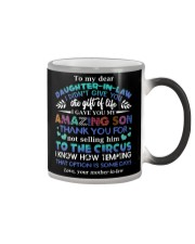 TO MY DAUGHTER-IN-LAW - FUNNY T-SHIRT - CIRCUS Color Changing Mug thumbnail