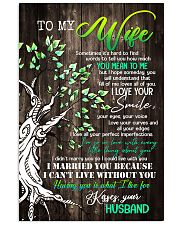 To Wife - Tree - Sometimes It's Hard To Find  16x24 Poster front